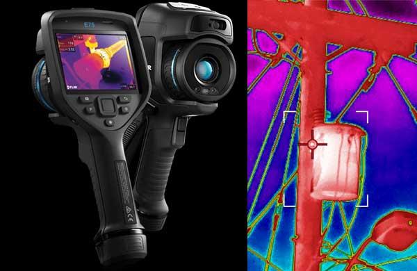 Imagens termográficas ajudam a identificar dispositivos eletrônicos que precisam de manutenção