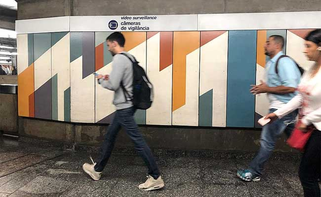 Detecção facial no espaço público