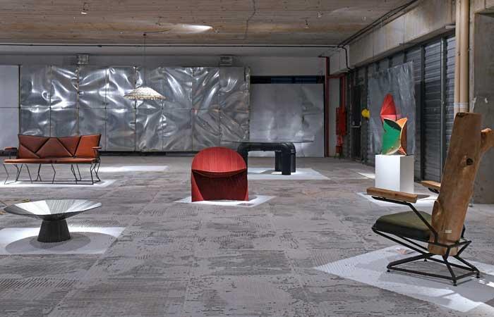 Até 10/01/20 – Arte e design com resíduos de obra