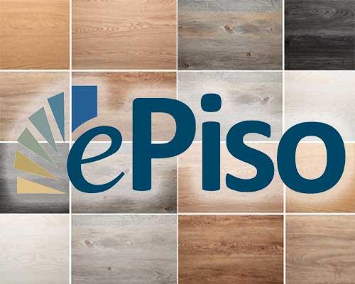 A linha EcoHome ePiso tem padrões para projetos personalizados