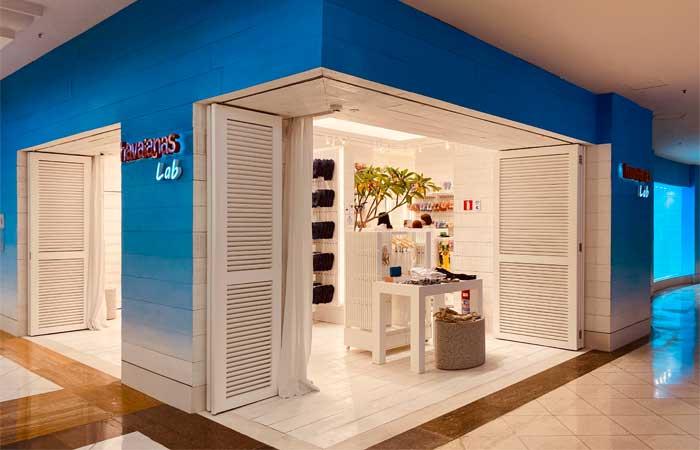 Primeira loja Lab Havaianas