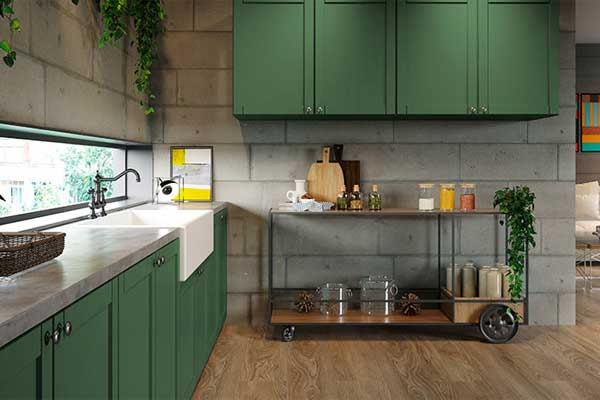 Cozinhas e os painéis Duratex