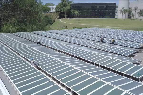Natura recebe a maior instalação do mundo de filmes solares de última geração