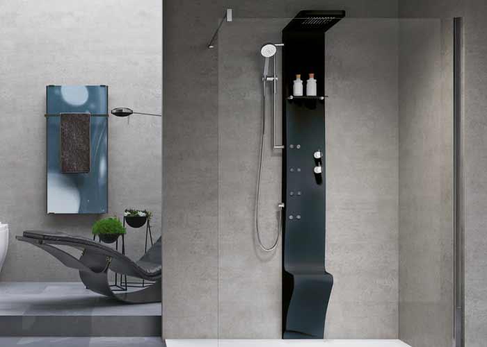 Sofisticação e tecnologia  Novellini para o banho