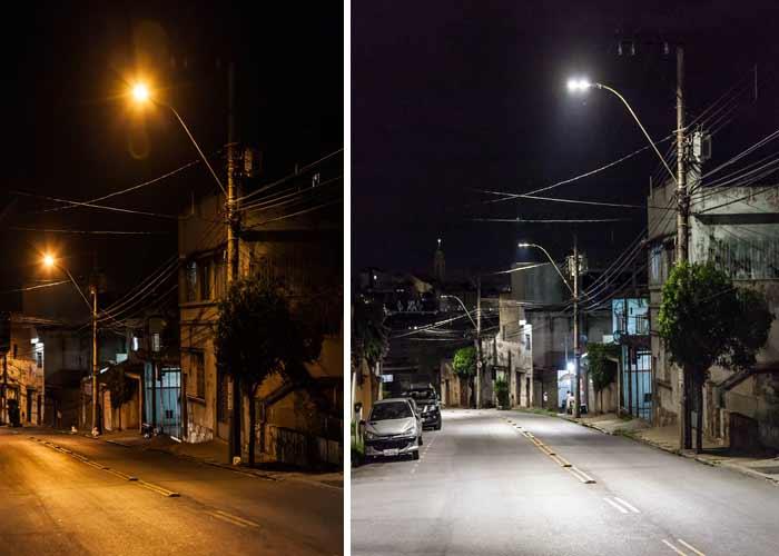 Modernização da iluminação pública em Belo Horizonte