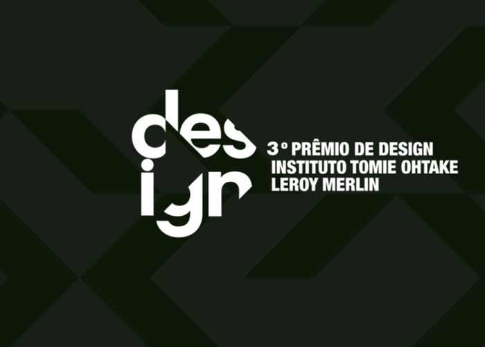 Até 28/08 – 3º Prêmio de Design