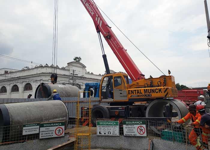 Passarelli finaliza obras de despoluição no Rio de Janeiro