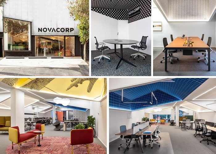 NOVACORP: mobiliário corporativo moderno e contemporâneo