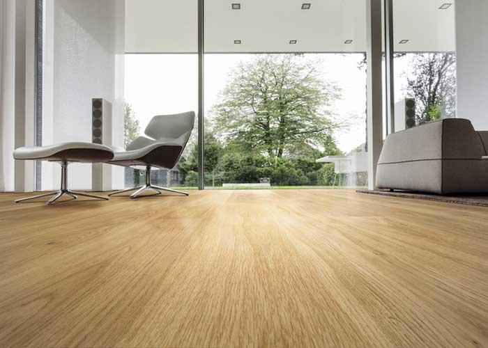 Carvalho Europeu em pisos de madeira