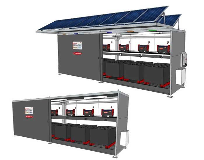 Fronius lança estação de carregamento de baterias