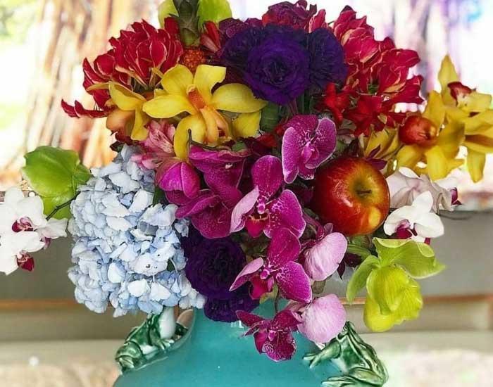 O flower design de Rico Prado Lobo