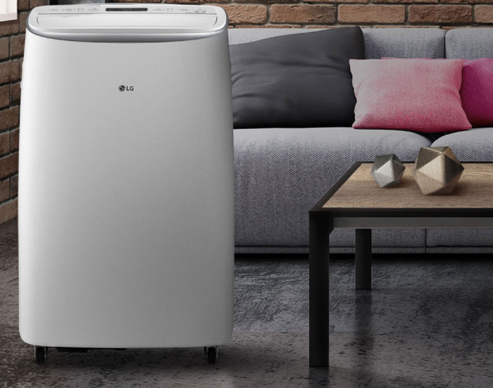 LG apresenta ar-condicionado DUAL Inverter portátil