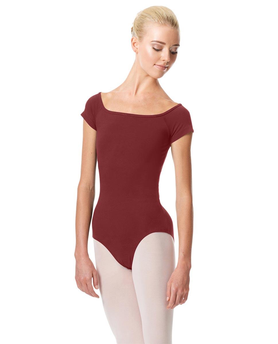Womens Cap Sleeve Ballet Leotard Naomi BUR