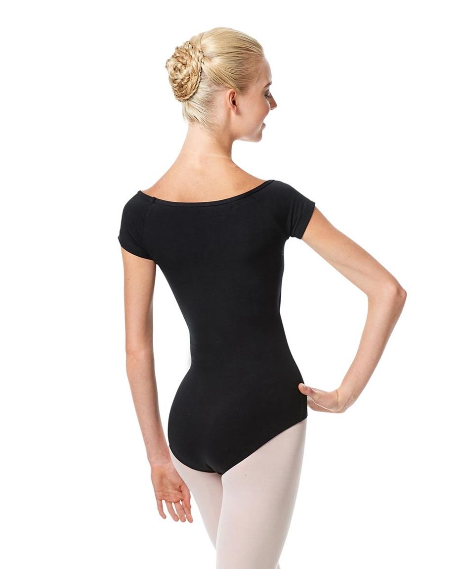 Womens Cap Sleeve Ballet Leotard Naomi back-womens-cap-sleeve-ballet-leotard-naomi