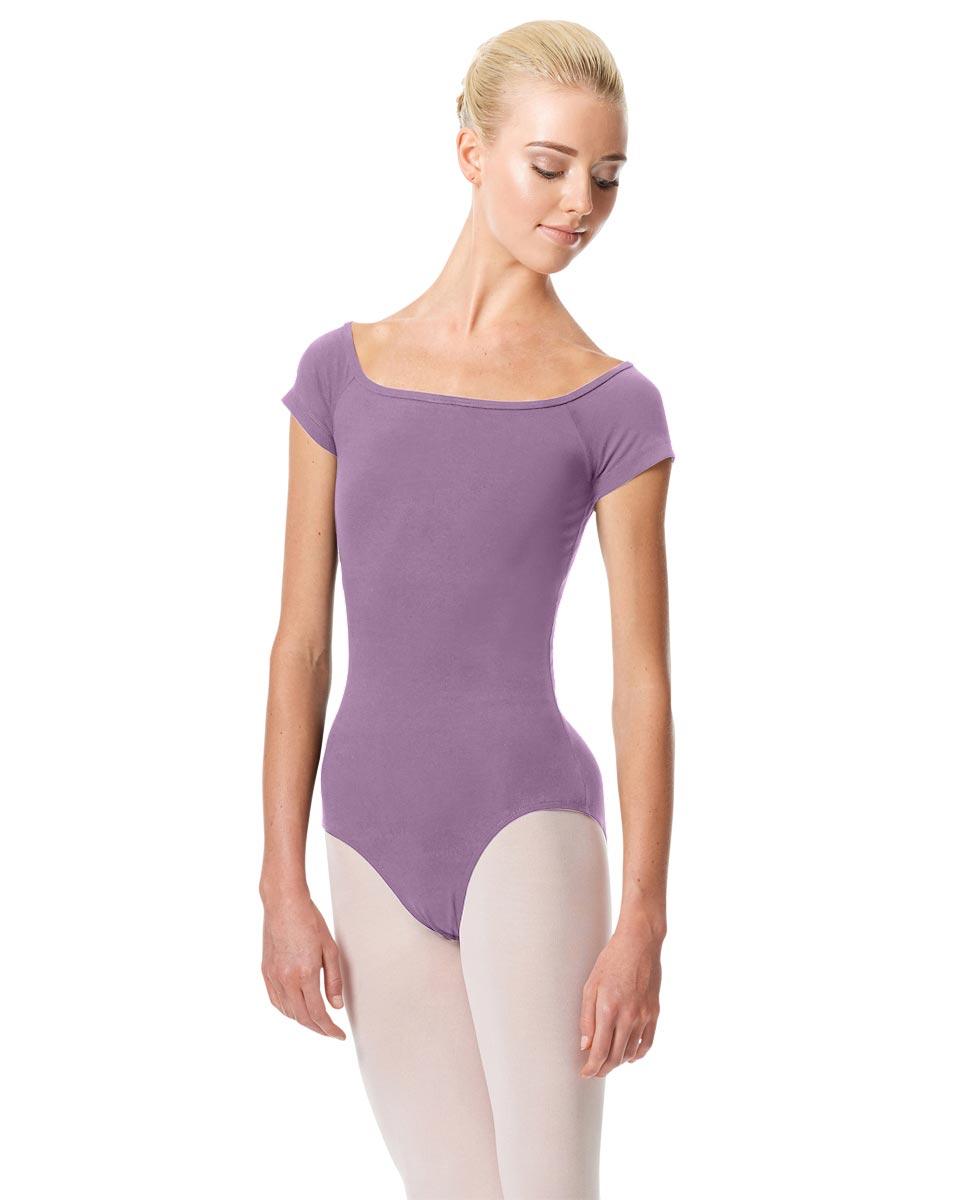 Womens Cap Sleeve Ballet Leotard Naomi LAV