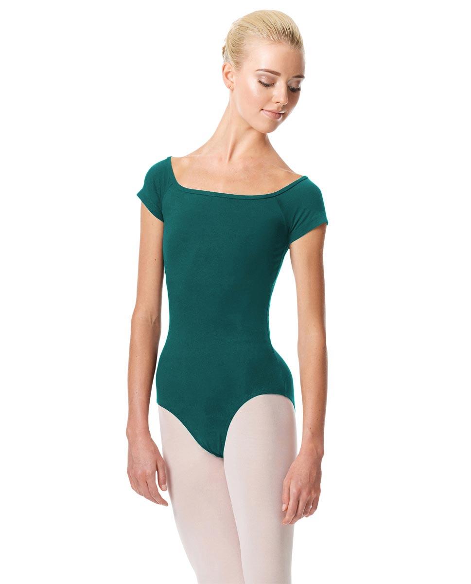 Womens Cap Sleeve Ballet Leotard Naomi TEA