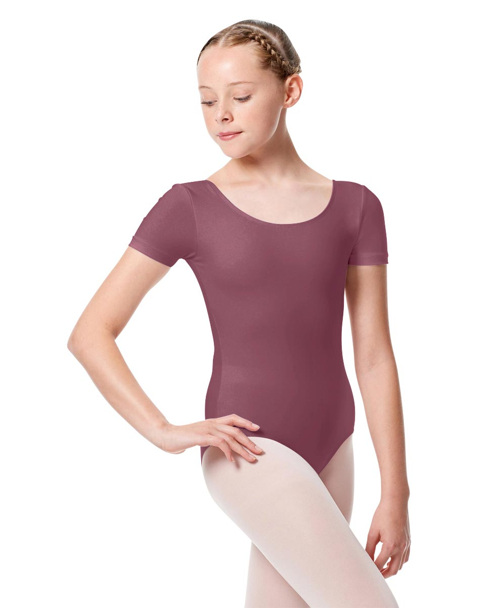 Child Basic Short Sleeve Ballet Leotard Tina DROS