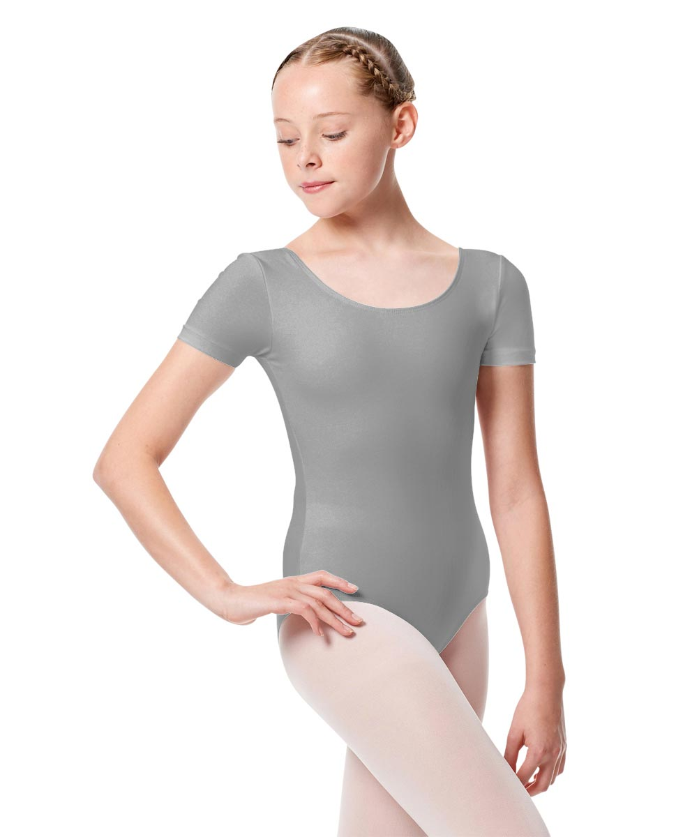 Child Basic Short Sleeve Ballet Leotard Tina GRE