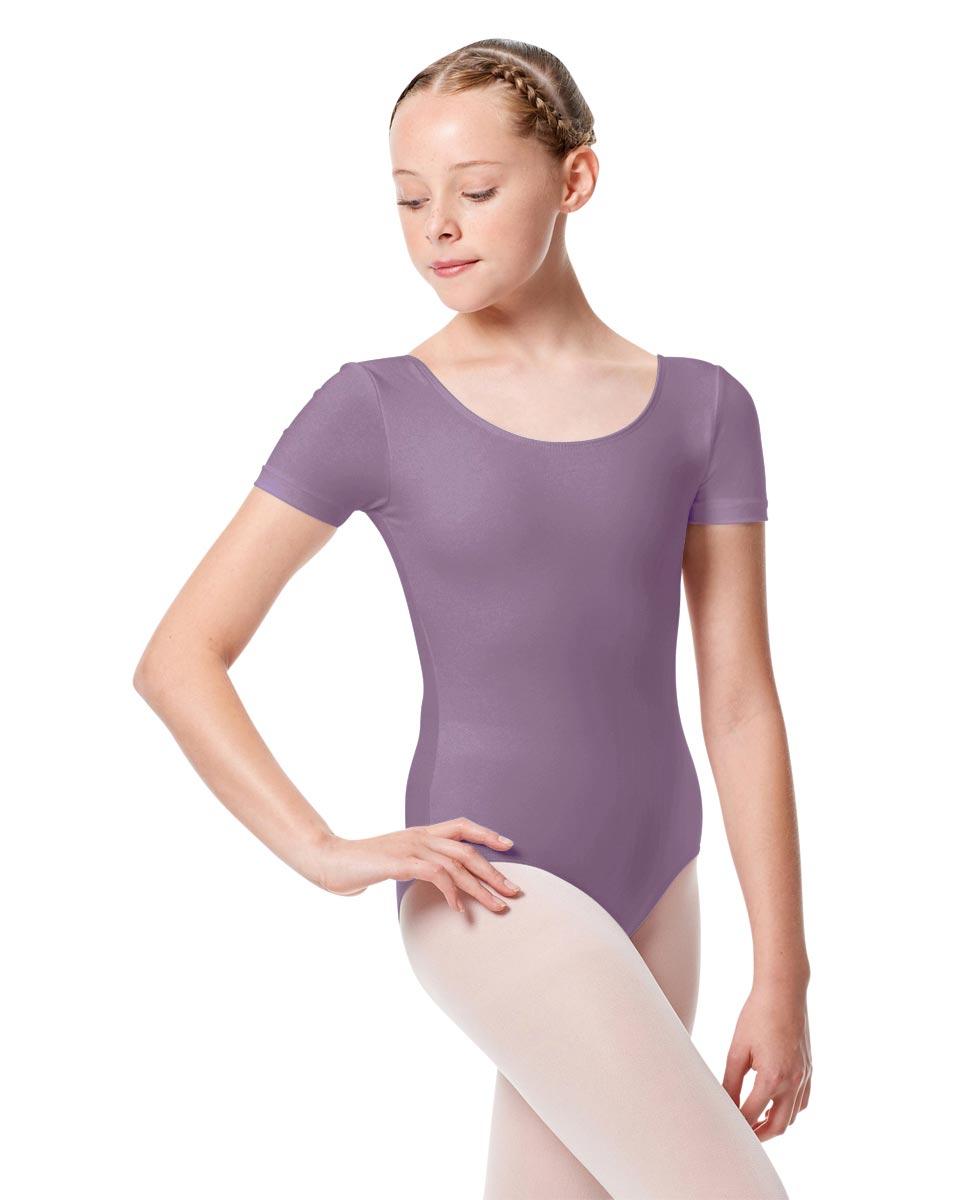 Child Basic Short Sleeve Ballet Leotard Tina LAV