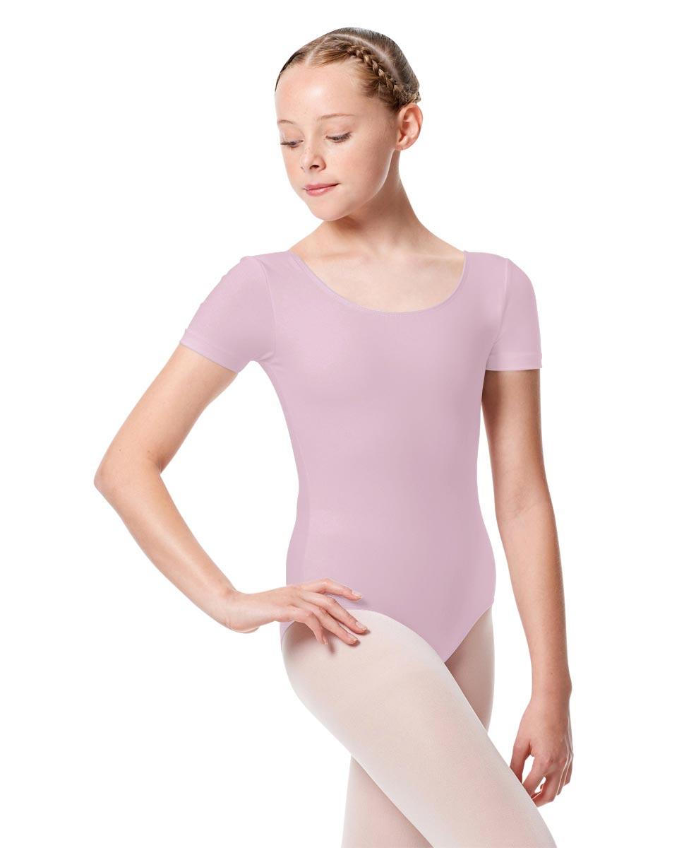 Child Basic Short Sleeve Ballet Leotard Tina LIL