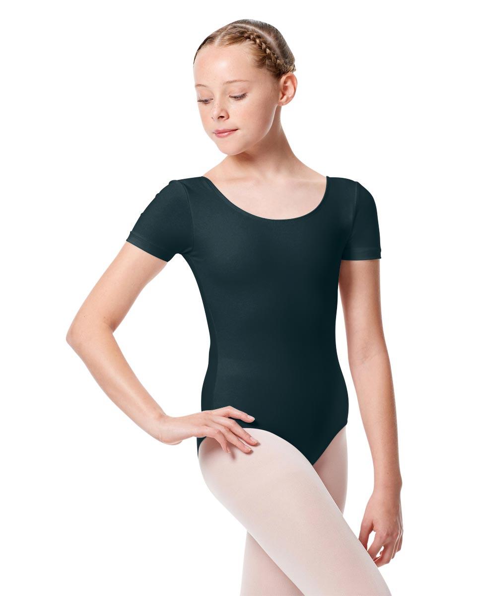 Child Basic Short Sleeve Ballet Leotard Tina MIDNAY