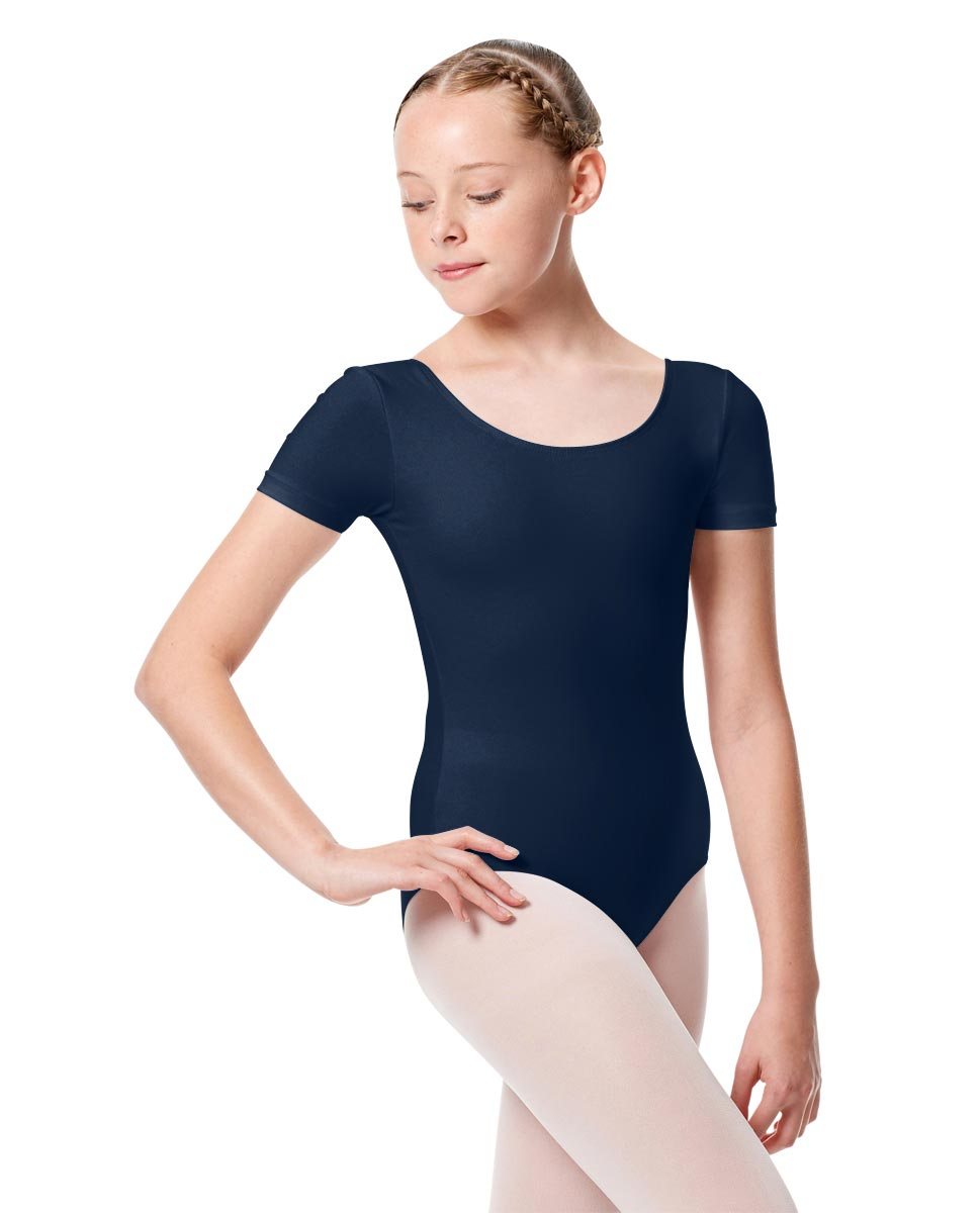 Child Basic Short Sleeve Ballet Leotard Tina NAY