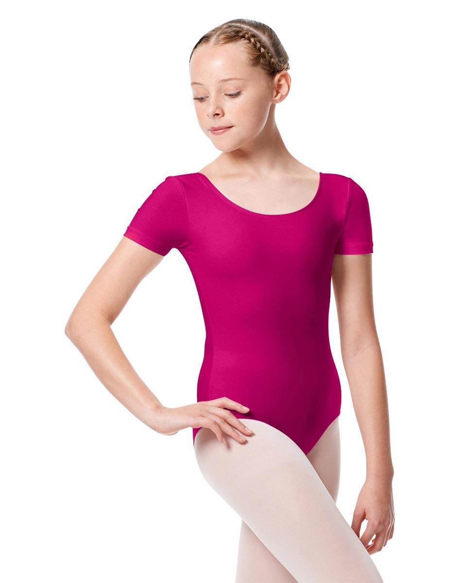 Child Basic Short Sleeve Ballet Leotard Tina RAS