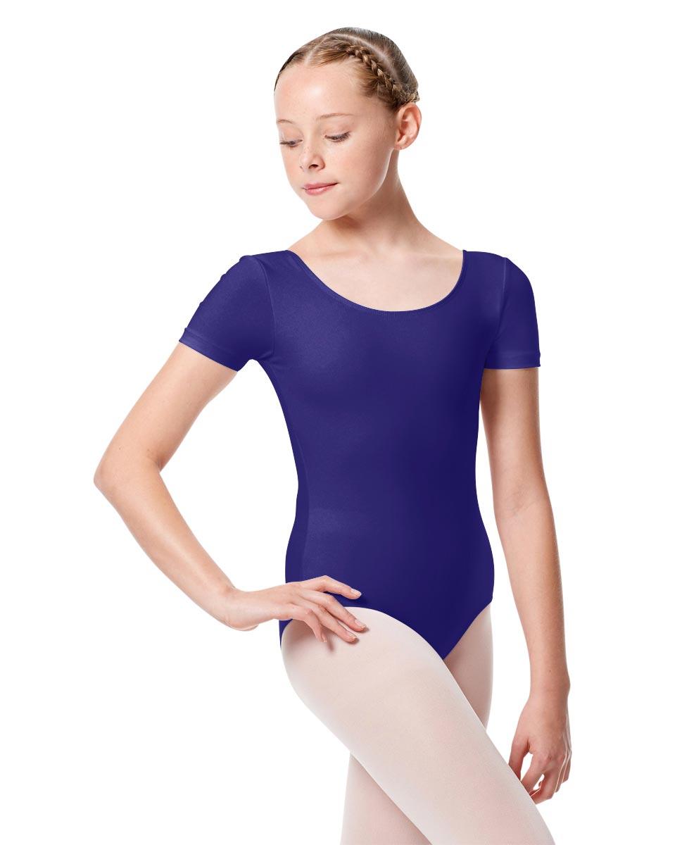 Child Basic Short Sleeve Ballet Leotard Tina ROY
