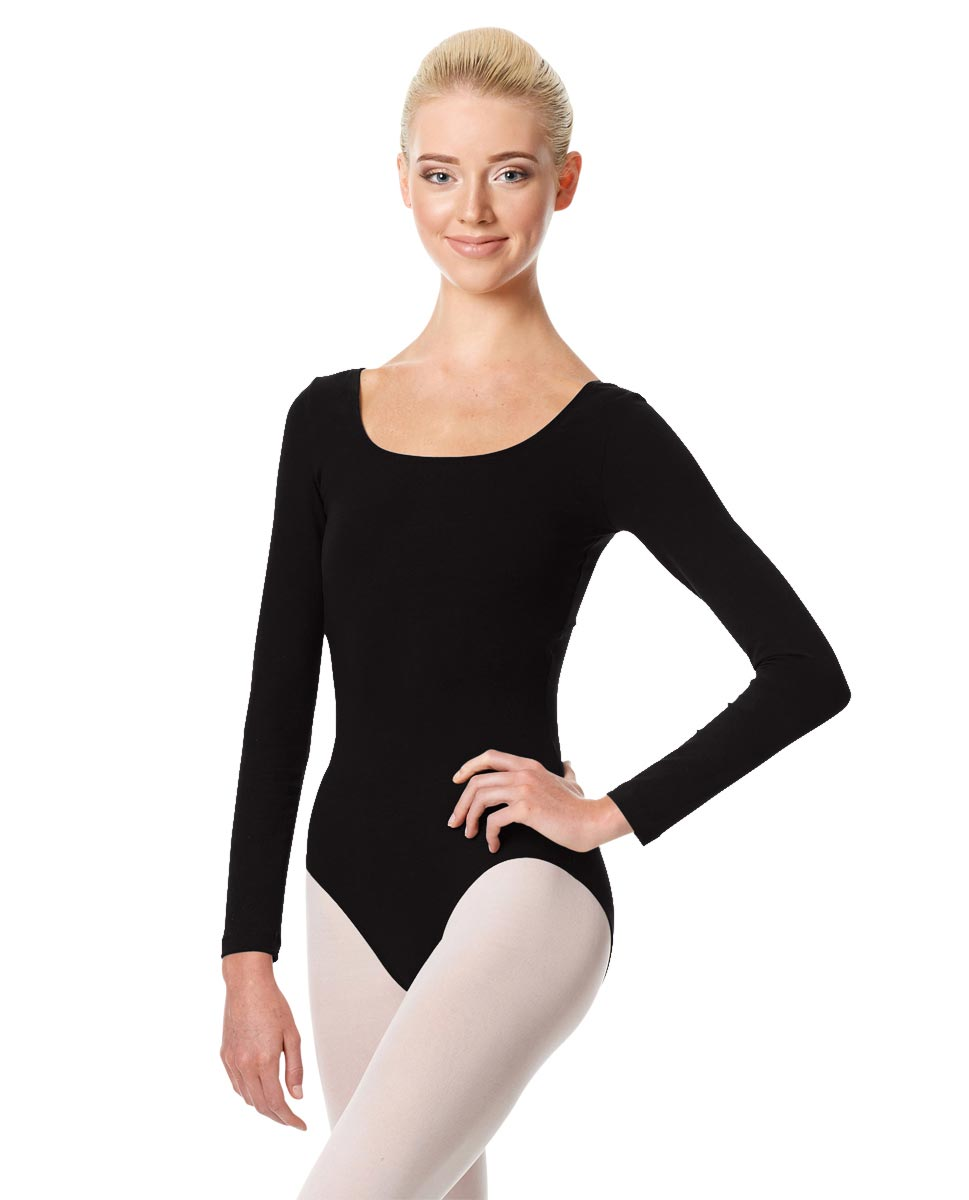 Long Sleeve Leotard Martha BLK
