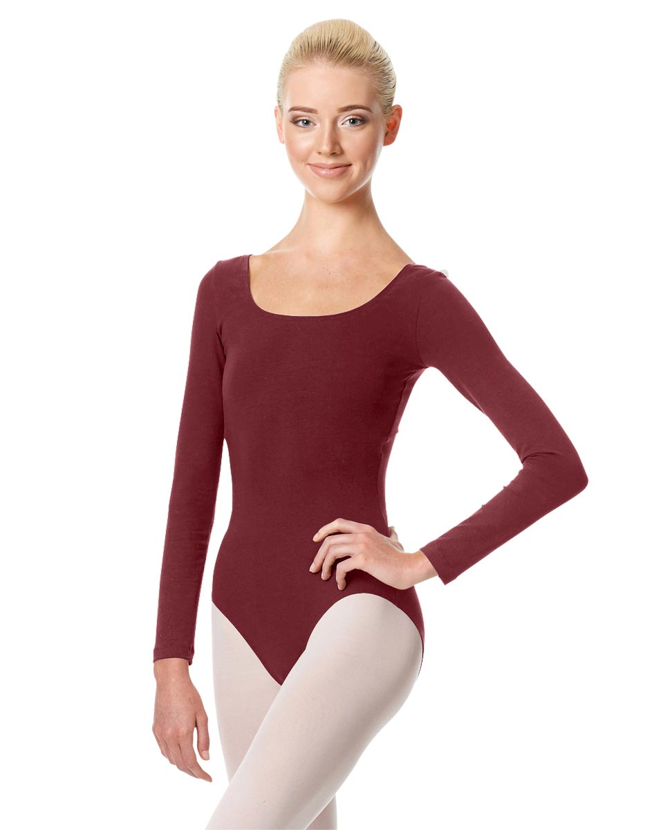 Long Sleeve Leotard Martha BUR