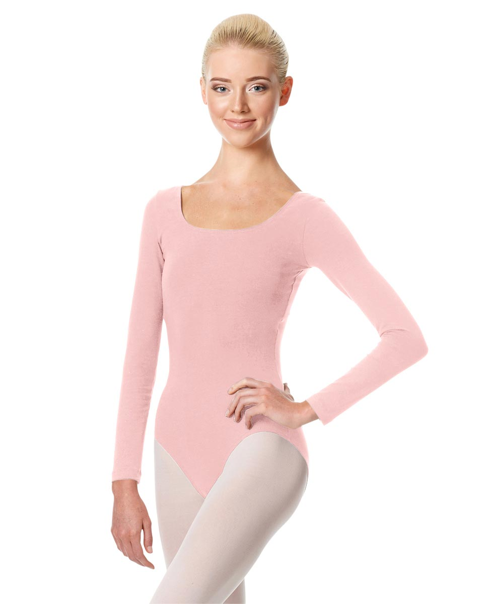 Long Sleeve Leotard Martha PNK