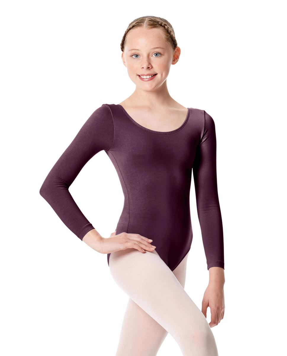 Child Long Sleeve Dance Leotard Martha AUB