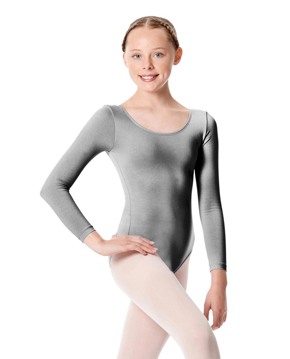 Child Long Sleeve Dance Leotard Martha GRE