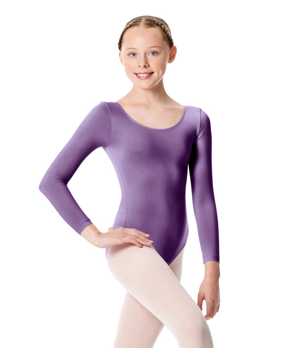 Child Long Sleeve Dance Leotard Martha LAV