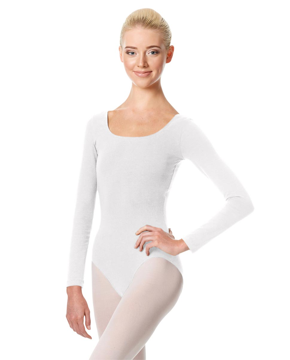 Long Sleeve Leotard Martha WHI