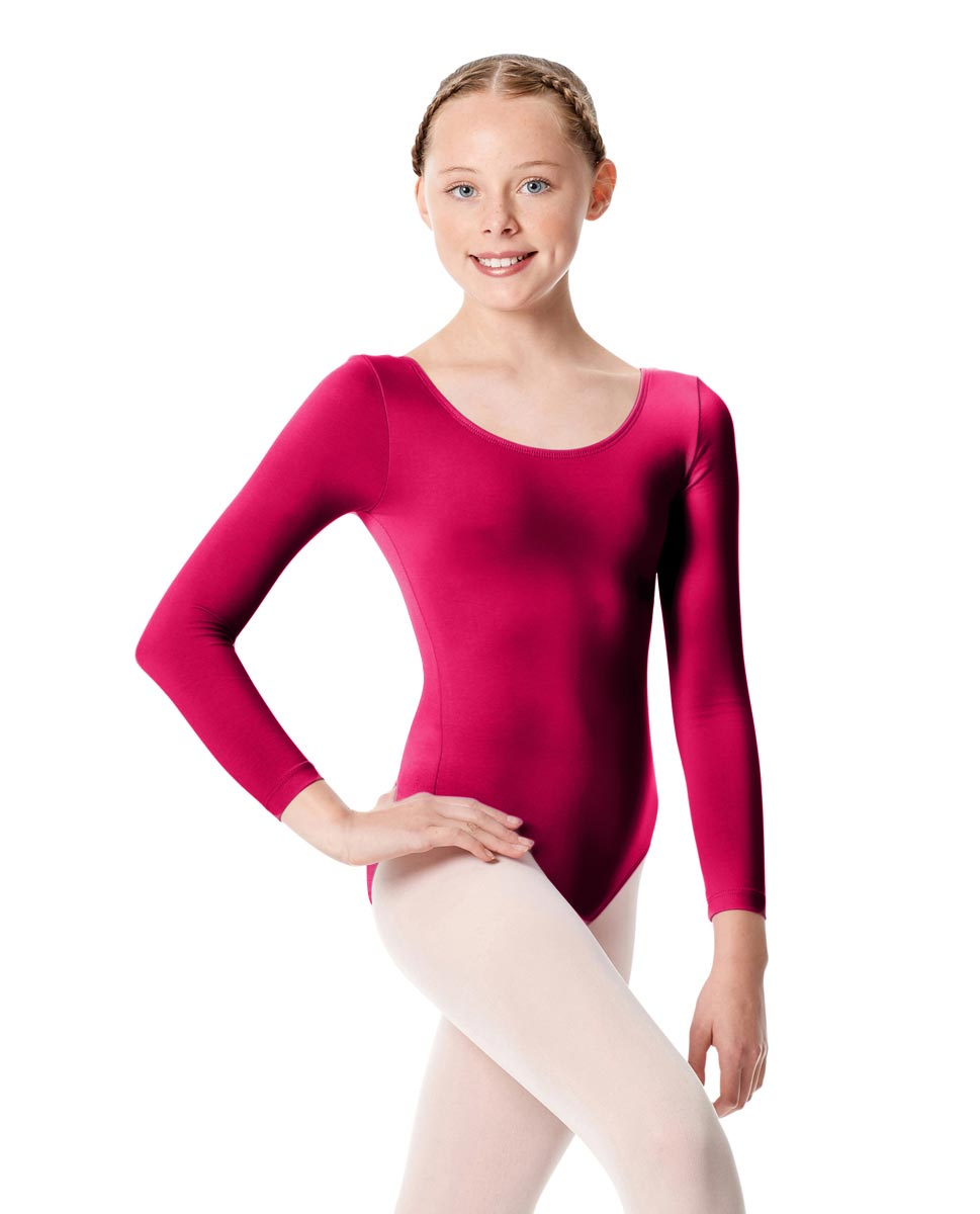 Child Long Sleeve Dance Leotard Martha RAS