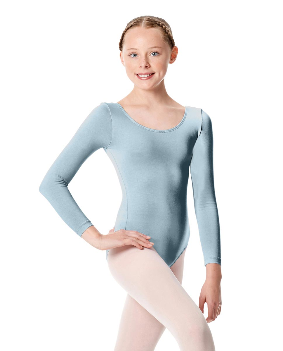 Child Long Sleeve Dance Leotard Martha SKY