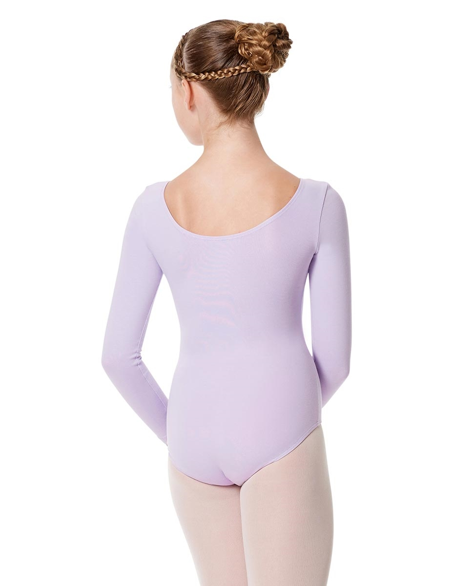 Child Long Sleeve Dance Leotard Martha back