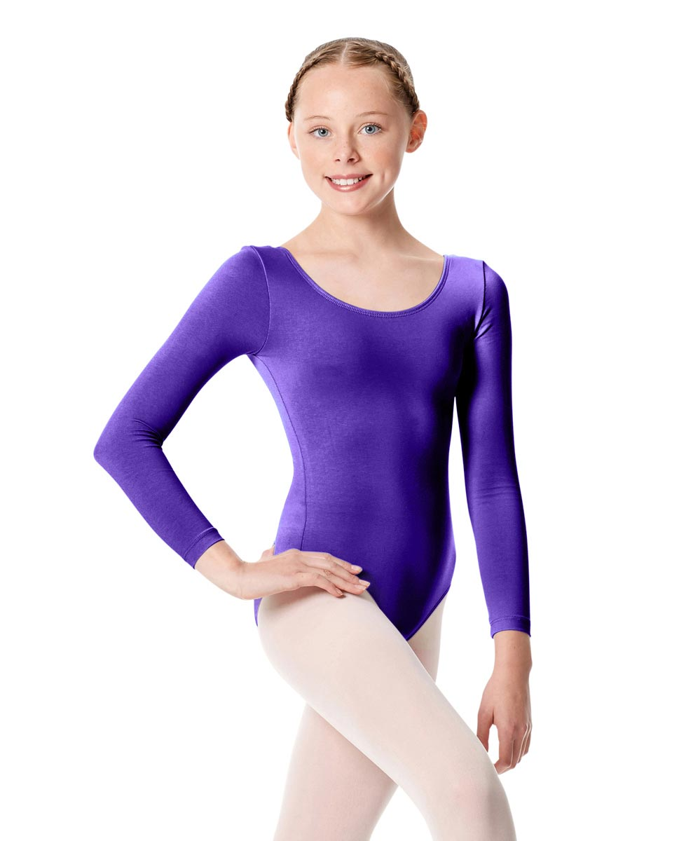 Child Long Sleeve Dance Leotard Martha ROY