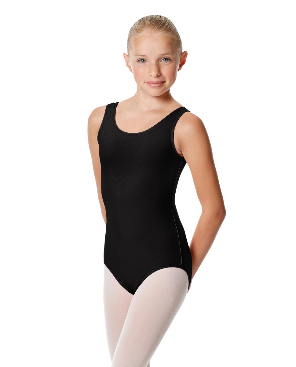 Child Basic Tank Ballet Leotard Adel BLK
