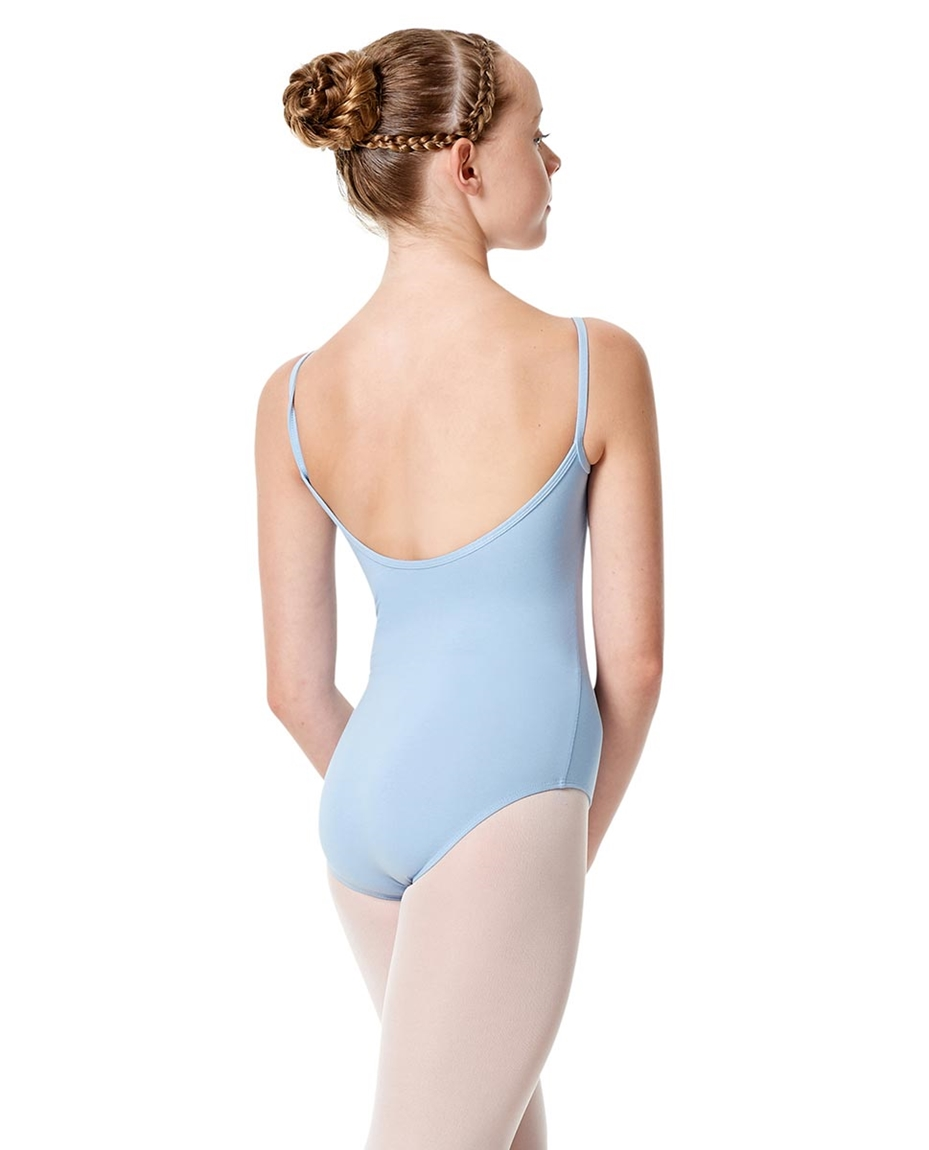 Child Basic Camisole Ballet Leotard Chantal back