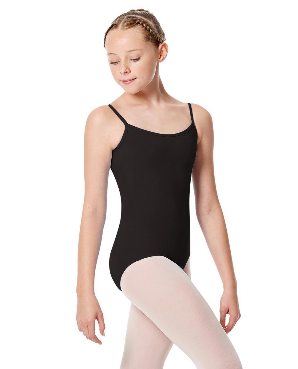 Child Basic Camisole Ballet Leotard Chantal BLK