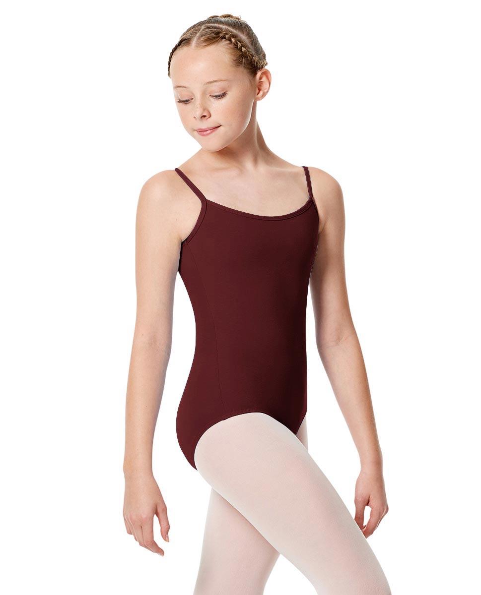 Child Basic Camisole Ballet Leotard Chantal BUR