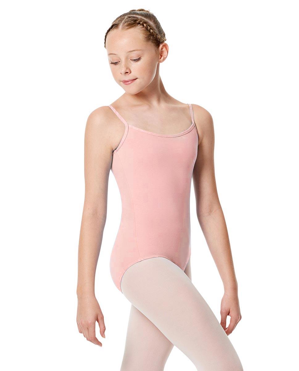 Child Basic Camisole Ballet Leotard Chantal PINK