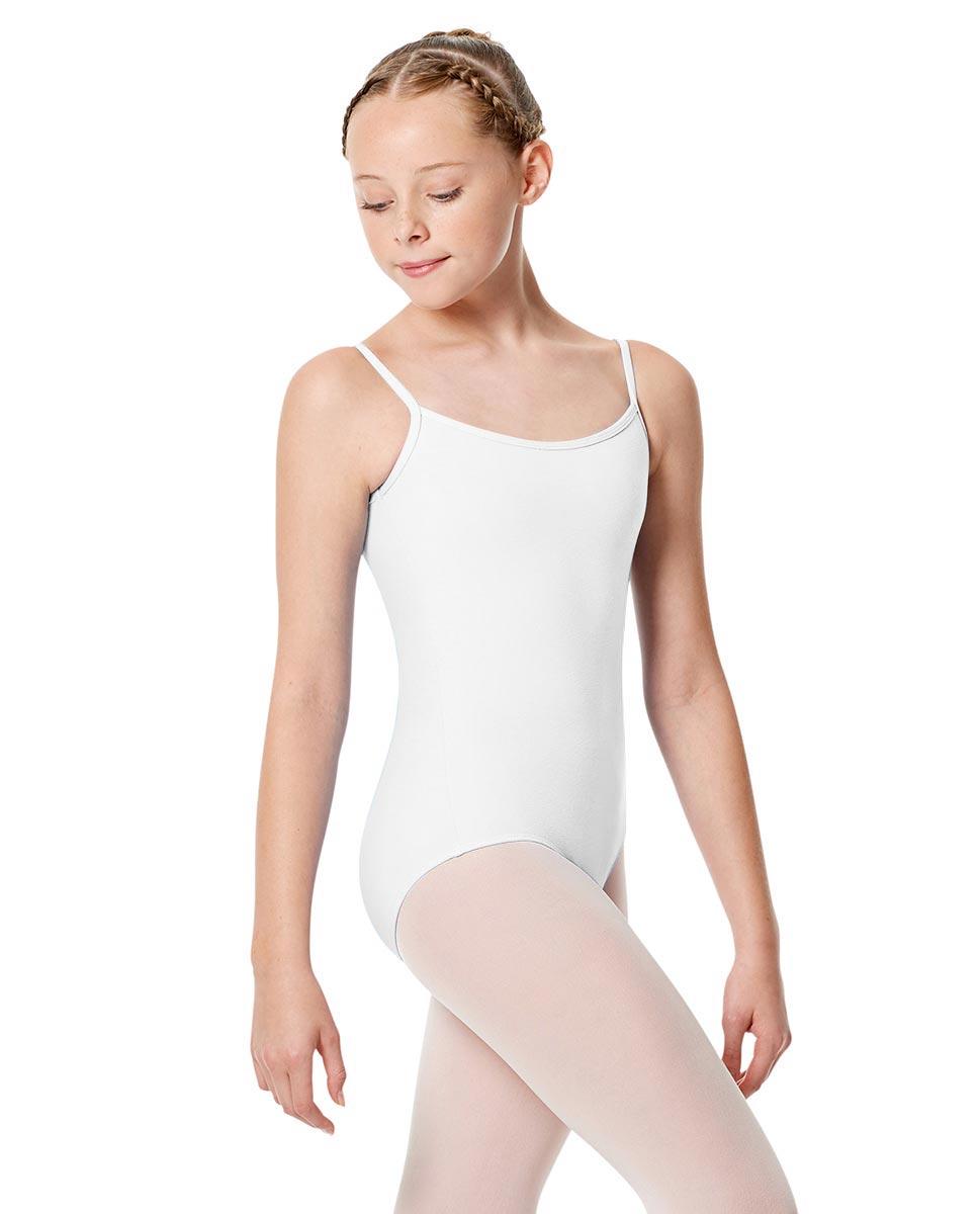 Child Basic Camisole Ballet Leotard Chantal WHI