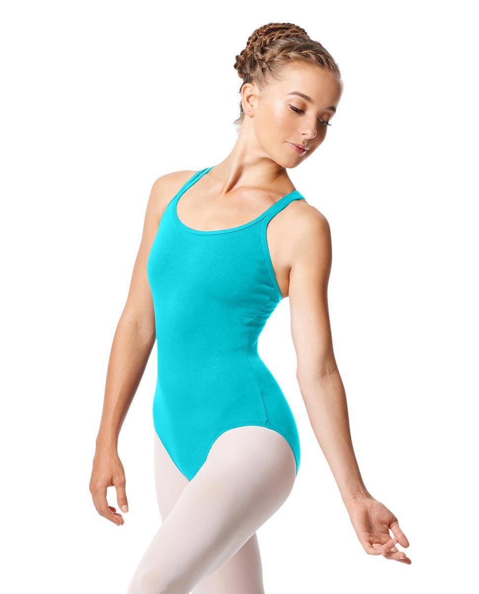 Womens Strappy Camisole Ballet Leotard Larissa ABLU