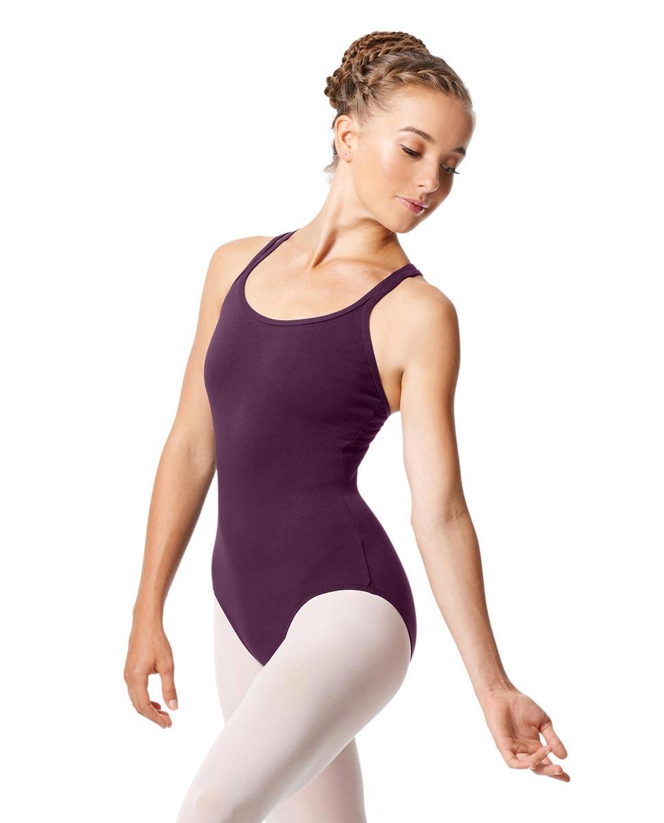 Womens Strappy Camisole Ballet Leotard Larissa AUB