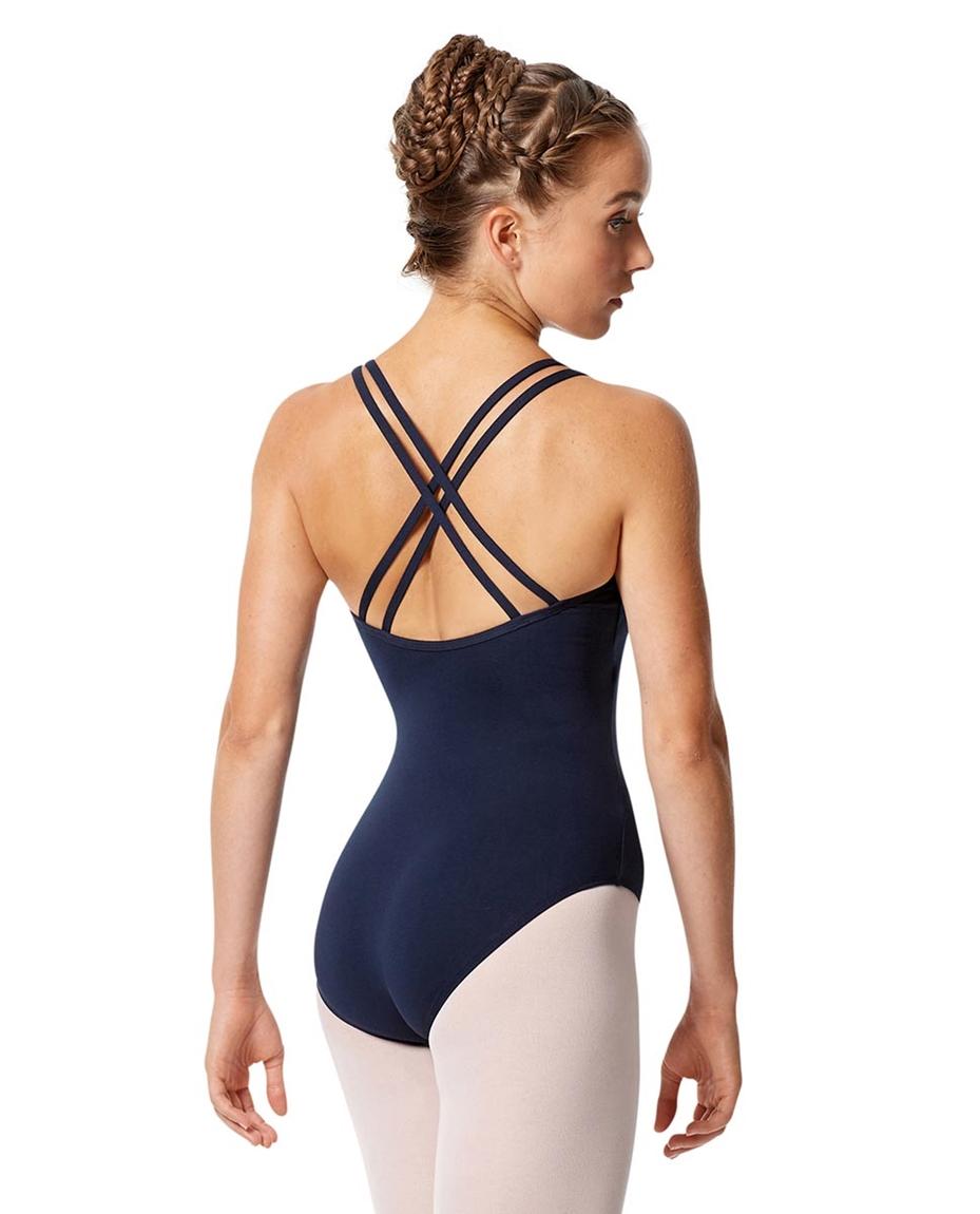 Womens Strappy Camisole Ballet Leotard Larissa back-womens-strappy-camisole-ballet-leotard-larissa
