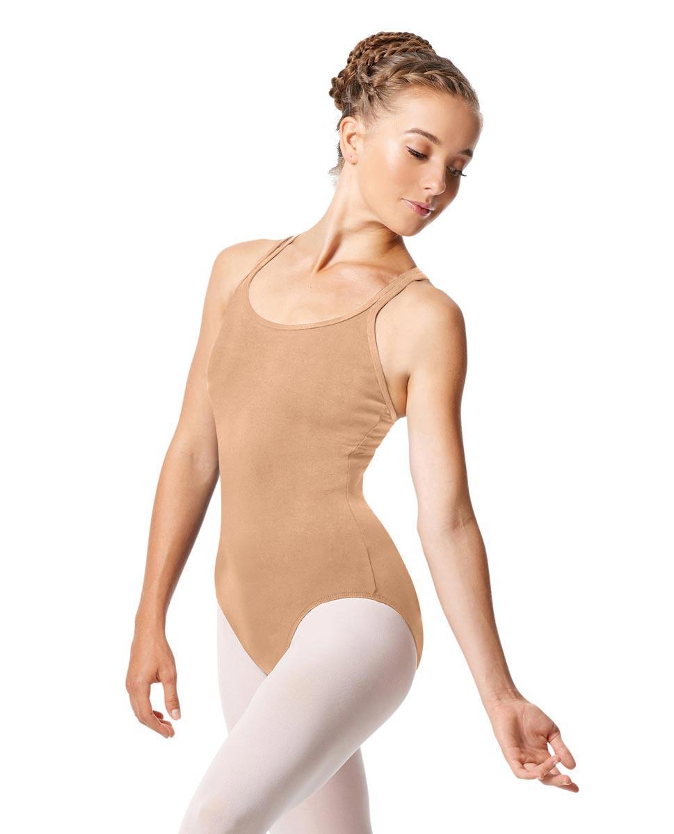 Womens Strappy Camisole Ballet Leotard Larissa DNUD