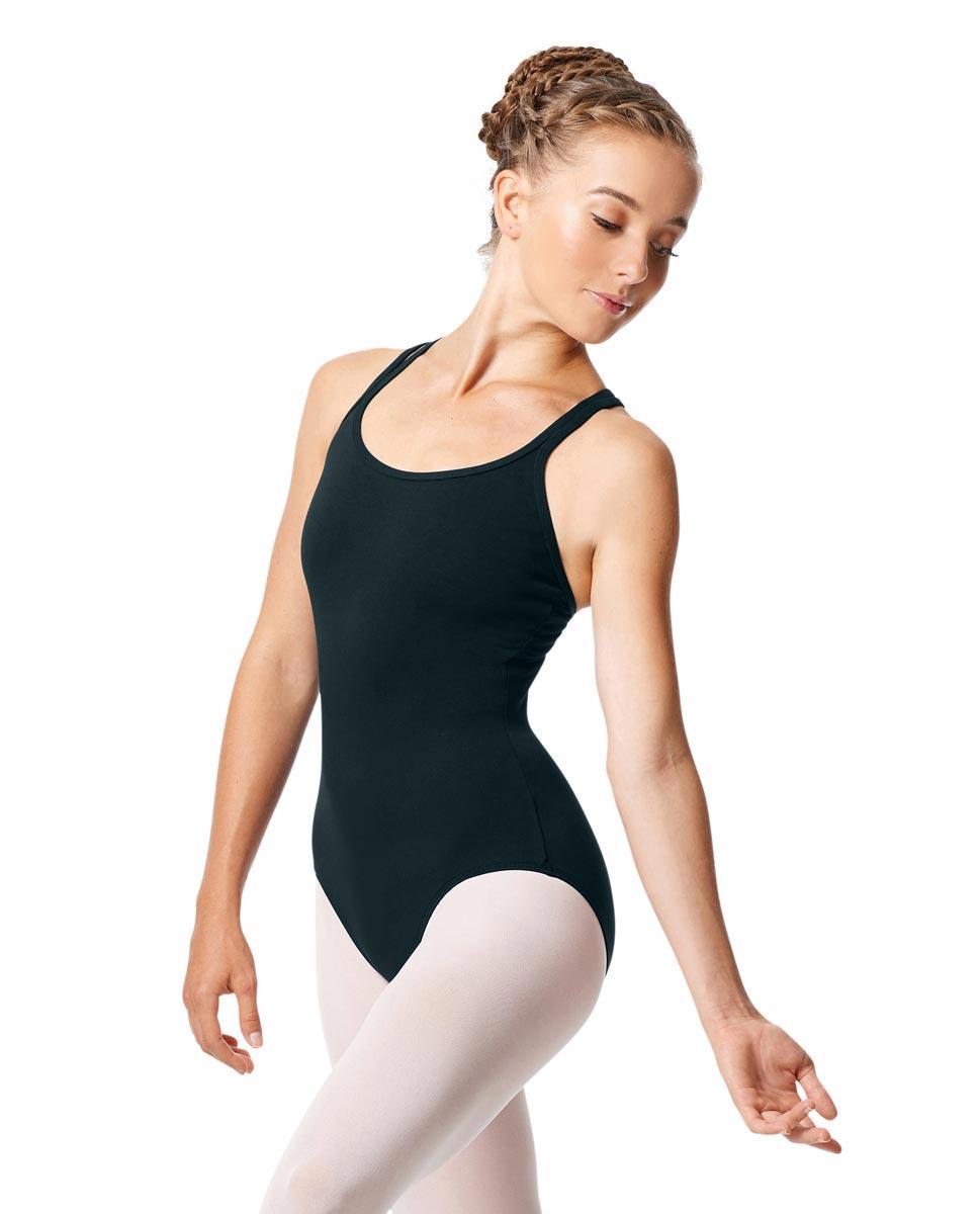 Womens Strappy Camisole Ballet Leotard Larissa MIDNAY